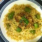 Okra Mixed Rice/Ladies Finger Mixed Rice